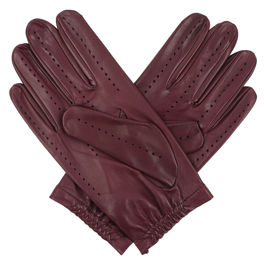 Blue leather gloves ladies uk - Tom Dick And Harry Men S Full Driving Gloves Burgundy
